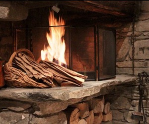 fireplace and fire image