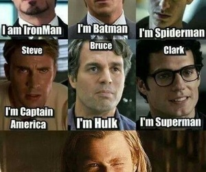 thor, Marvel, and batman image
