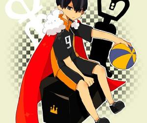 art, haikyuu, and anime boy image