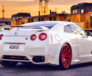 car, nissan, and gtr image