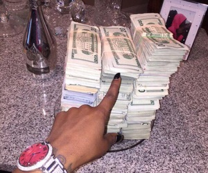 money, dollar, and goals image