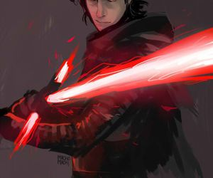 star wars, kylo ren, and art image