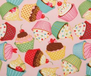 cupcake, background, and dessert image