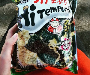 food, japanese, and seaweed image