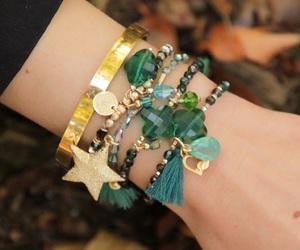 bangle, jewelery, and jewels image