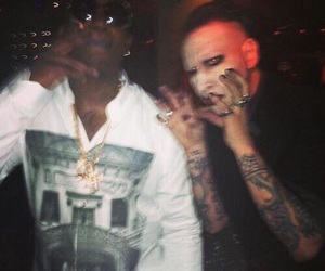 Marilyn Manson and gucci mane image