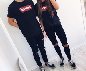 couple, levis, and goals image