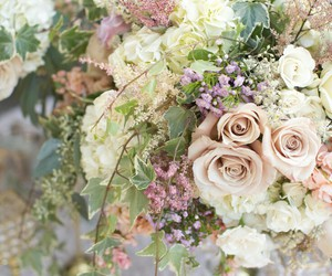 bouquet, wedding, and love image