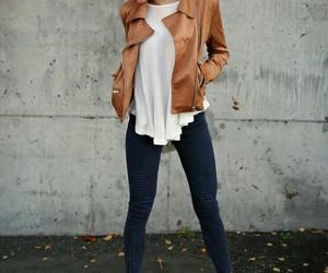 heels, jacket, and sunglasses image