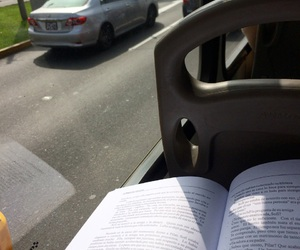 book, bus, and chill image