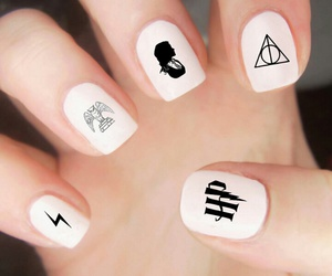 amazing, harry potter, and nail art image