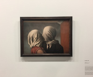 art, aesthetic, and magritte image