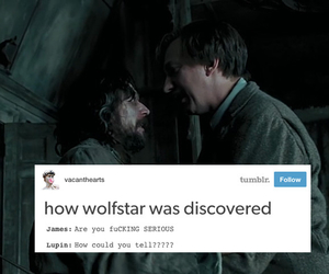 harry potter, remus lupin, and wolfstar image