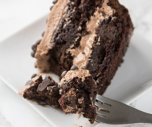 cake, chocolate, and dessert image