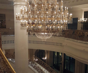 luxury and chandelier image
