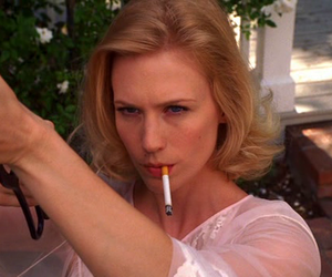 mad men, Betty Draper, and gun image