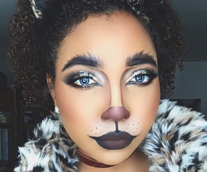 cat, chat, and eyebrows image