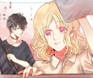 anime, couple, and ruki image