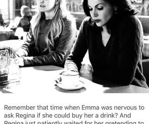 once upon a time, swan queen, and emma swan image