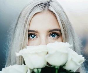 eyes, girl, and girly image