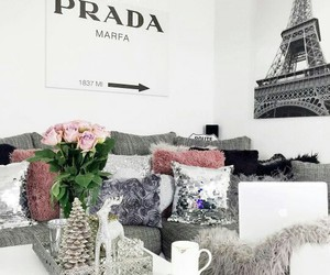 Prada, home, and interior image