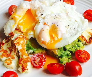 avocado, eggs, and fitness image