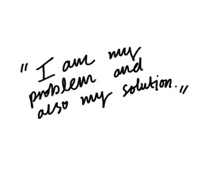 quotes, problem, and solution image