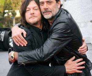 the walking dead, daryl, and negan image