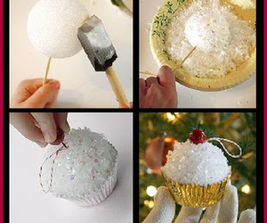 christmas, christmas ornaments, and crafts image