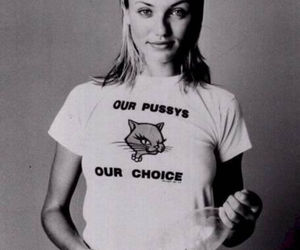 cameron diaz, pussy, and cat image