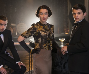 jamie blackley, hermione corfield, and the halcyon image