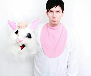 phil lester, amazingphil, and bunny image