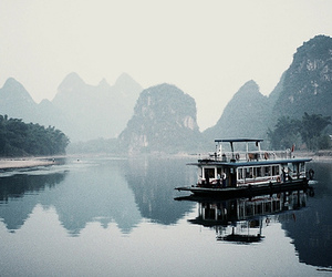 china, guilin, and interestingness image