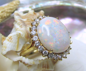 etsy, gifts for her, and opal jewelry image
