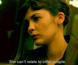 amelie, movie, and lonely image
