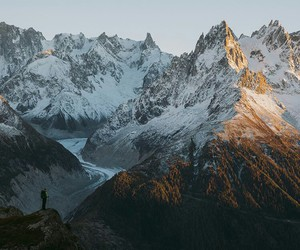 mountains, nature, and tumblr image