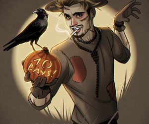 countdown, Halloween, and scarecrow image