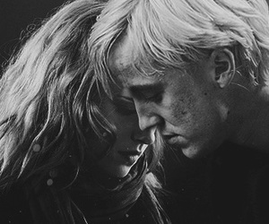 harry potter, draco malfoy, and dramione image