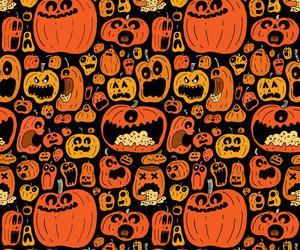 Halloween, pumpkin, and orange image