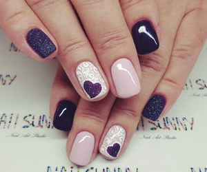 nails, elegant, and fashion image