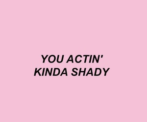 pink, quotes, and shady image