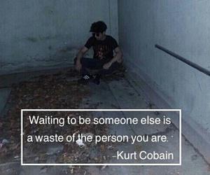 grunge, kurt cobain, and quotes image