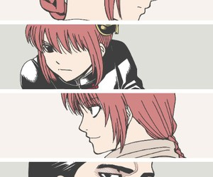 gintama, kagura, and kamui image