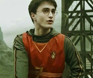 harry potter, background, and daniel radcliffe image