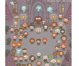 characters and harry potter image