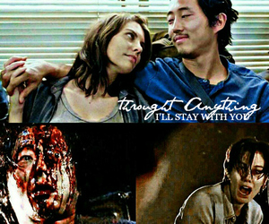 glenn, Maggie, and quote image
