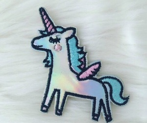 fur, pastel, and unicorns image
