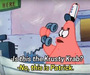 funny, spongebob, and krusty krab image