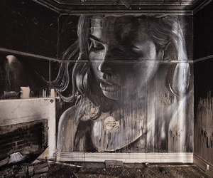 street art and rone image