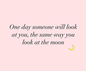 kiss, moon, and quotes image